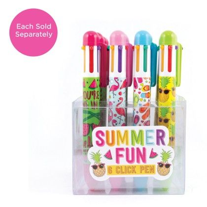 Summer Fun Pen - International Arrivals