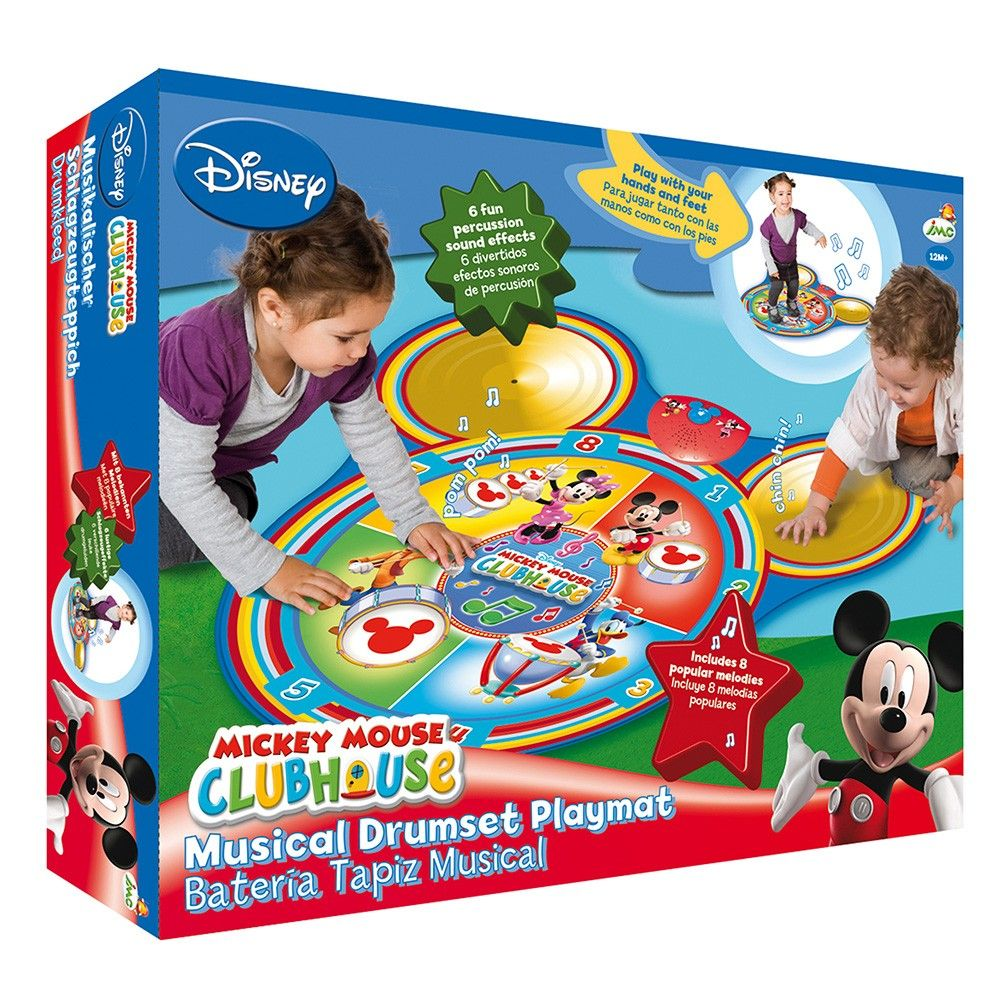 Clubhouse Mickey Drum Play Mat - IMC Toys