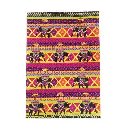 Notebook Rangeen Hathi Set Of 2 - The Elephant Company