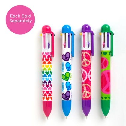 Click Pen - Peace & Love (assorted) - International Arrivals