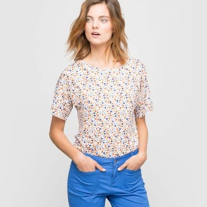 Summer Printed Top - Print - La Redoute