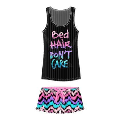 Bed Hair Dont Care Short Set - Rene Rofe