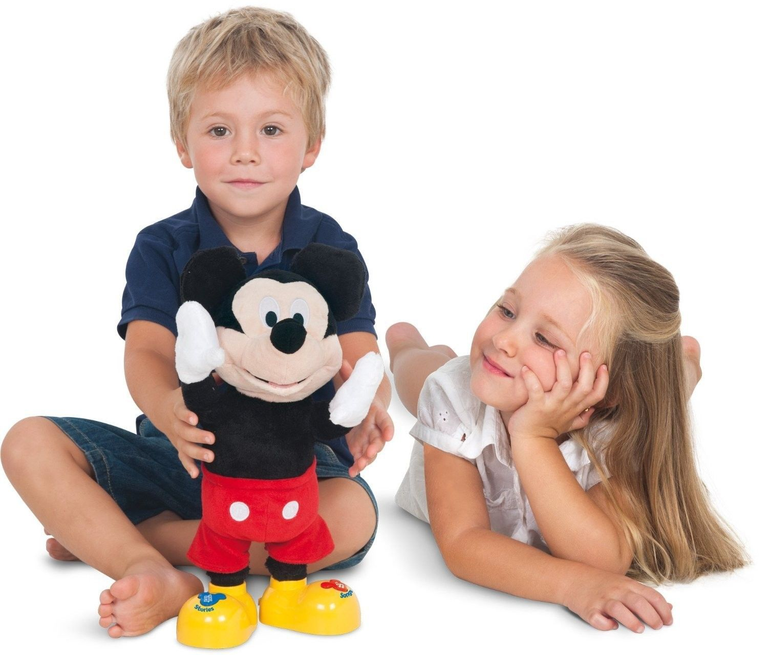 Mickey Mouse Story Teller Without Base - IMC Toys