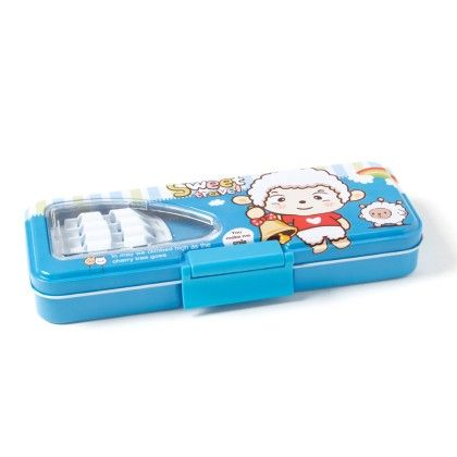 Pencil Box With Pencil Holder Inside (blue) - It's All About Me