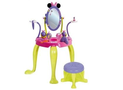 Minnie's Vanity Set With Legs And Stool - IMC Toys
