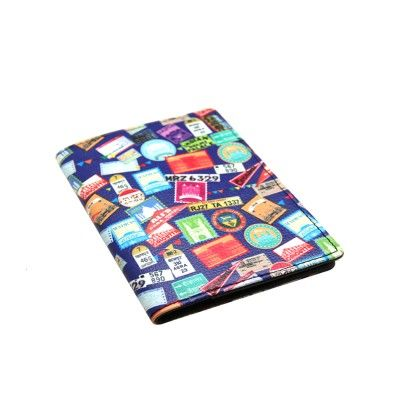 Passport Cover Blue Indian Journey - The Elephant Company