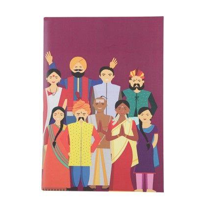 Notebook Happy Family Set Of 2 - The Elephant Company
