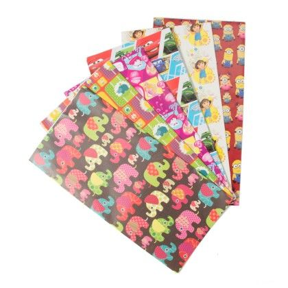 Assorted Wrapping Sheets (set Of 12) (6 Designs) - It's All About Me