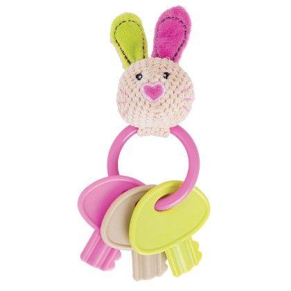 Bella Key Rattle - Bigjigs Toys