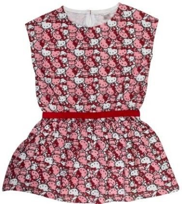 Candy Pink Hello Kitty Knitted Dress - Hello_Kitty