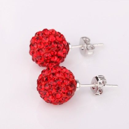 Sexy Red Stud Earring - The Purple Present