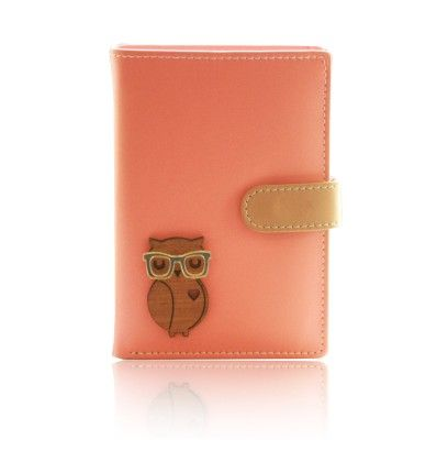 Wise Owl Wooden Tw Peach And Tan - Fizza