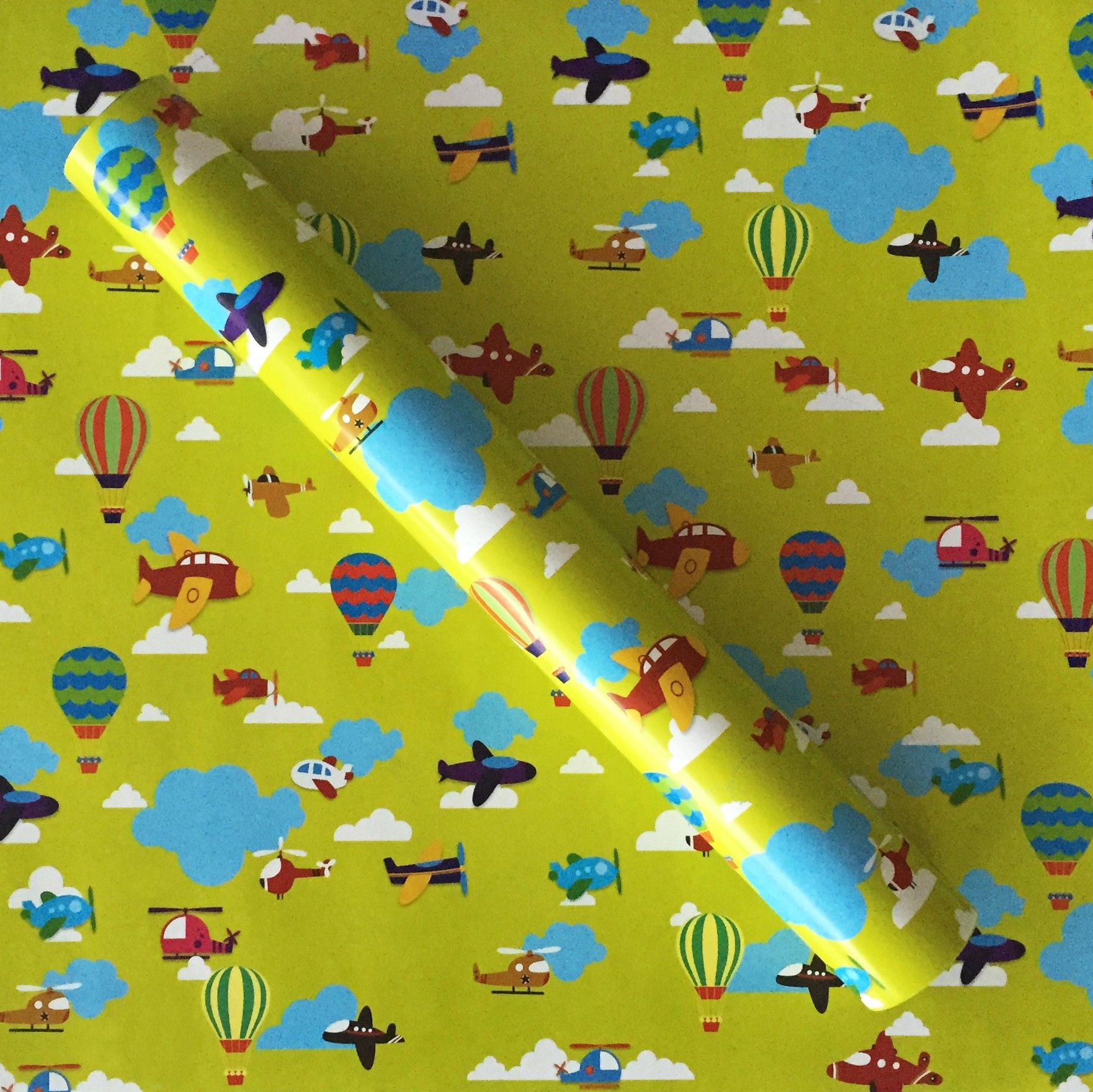Planes Wrapping Paper - Dots & Doodles