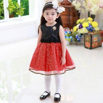 Stylish Black And Red Dress - JYQ