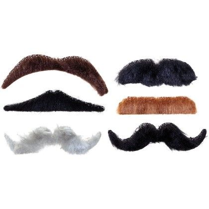 Stick-on Moustaches - Tobar