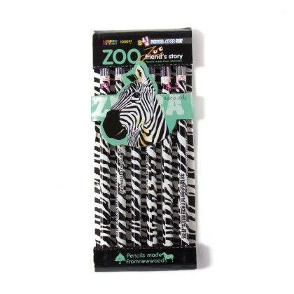 Black Pencil Set Of 6 - Sale Zone