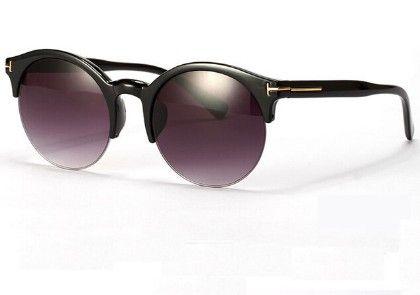 Purple Half Frame Sunglasses - URB-N-ANGELS