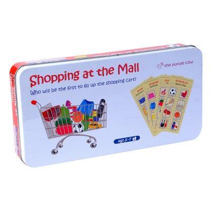 Educational Fun Shopping At The Mall - The Purple Cow