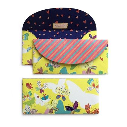 Butterfly Envelope - Dots & Doodles