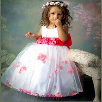 Fuchsia Floral And Petal Dress - MeiQ