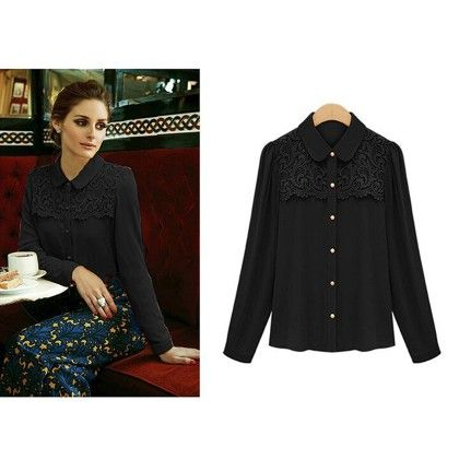Formal Stylish Black Color Shirt - STUPA FASHION