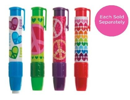 Click It Erasers Peace & Love - International Arrivals