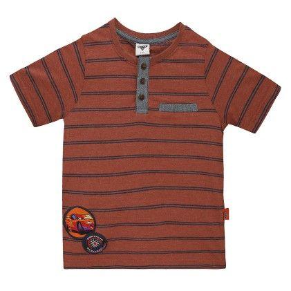 Brown Disney Boy's Round Neck T-shirt