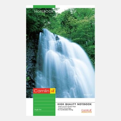 Camlin Long Notebook - Soft Cover 76 Pages Single Line