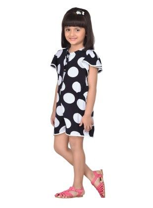 Peppermint Polo Adorable Frill Sleeve Playsuit - Masaba For Magic Fairy