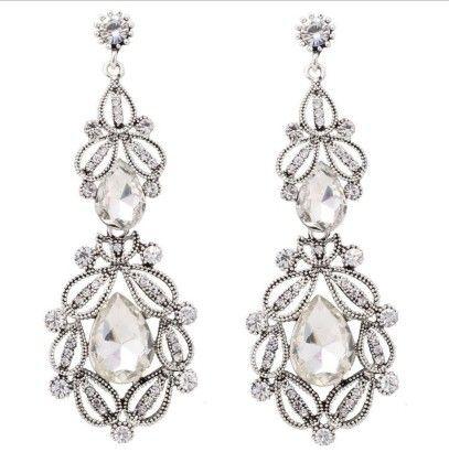 Indian Princess Drop Earrings - The Purple Present