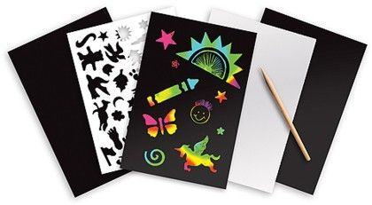 Rainbow Scratch Art Boards - Melissa & Doug
