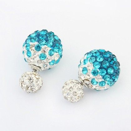 The Water Stone Stud Earring - The Purple Present