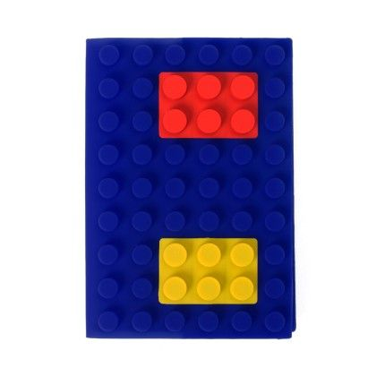 Medium Size Lego Diary (dark Blue) - It's All About Me