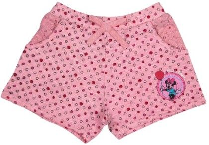Minnie Mouse Candy Pink Short - Mickey & Friends