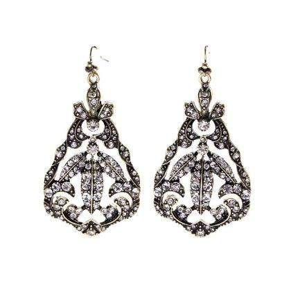 The Nizam Queen Drop Earrings - The Purple Present
