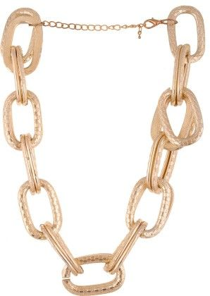 Chunky Golden Necklace - Coco House