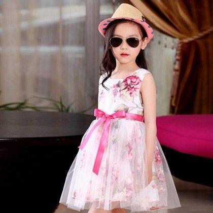 Pretty Pink Dress - Lilpicks Couture