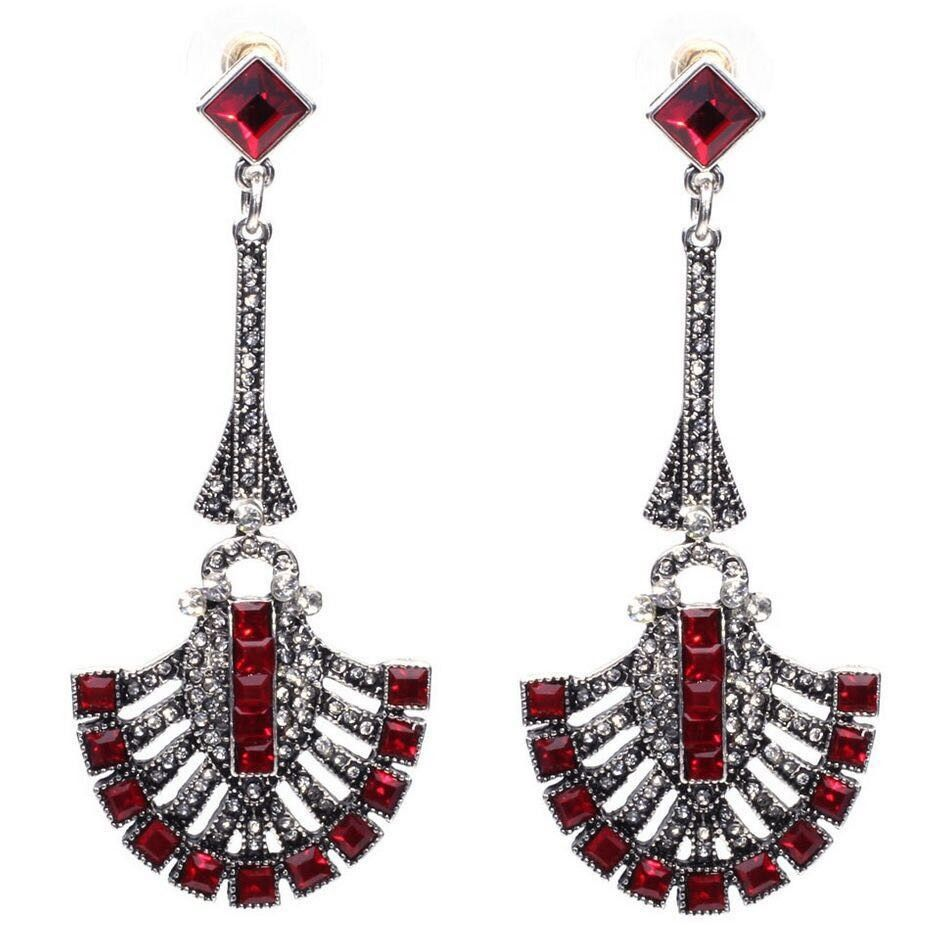 The Red Princess  Drop Earrings - The Purple Present