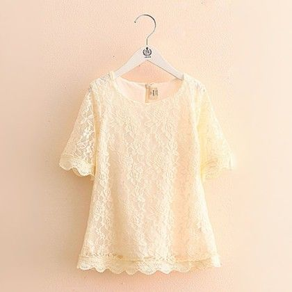 Cute Summer Special Lace Dress - Mauve Collection