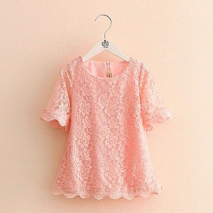 Summer Special Pink Lace Dress - Mauve Collection