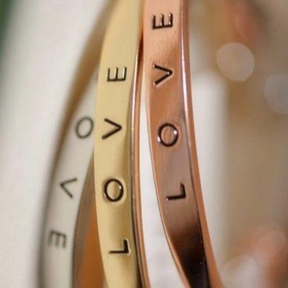 Love Band-set Of 3 Bracelet - The Purple Present