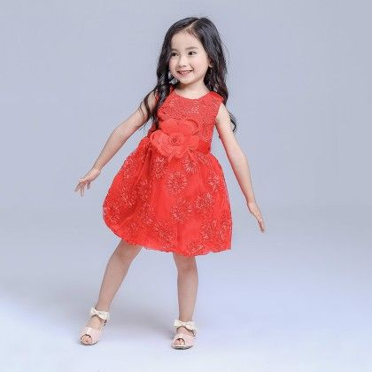 Red Special Party Dresses - Mauve Collection