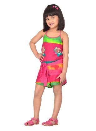 Skittles Rainbow Playsuit With Bow - Masaba For Magic Fairy