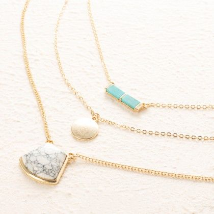 Mariko Layered Necklace - Pipa Bella