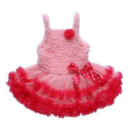Pink Ruffled Tutu Sling Dress - Isabella By Princess