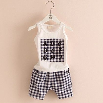Cute Printed Tshirt & Black Shorts Sets - Mauve Collection