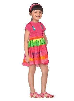 Skittles Rainbow Suspender Skirt With Top - Masaba For Magic Fairy