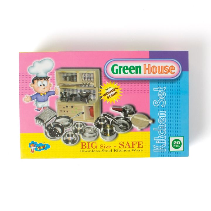 Buy Sunny Toys Green House Wooden Stand Online 799 Hopscotch