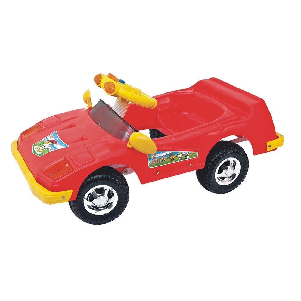 hopscotch dash red sports push and pedal car for kids