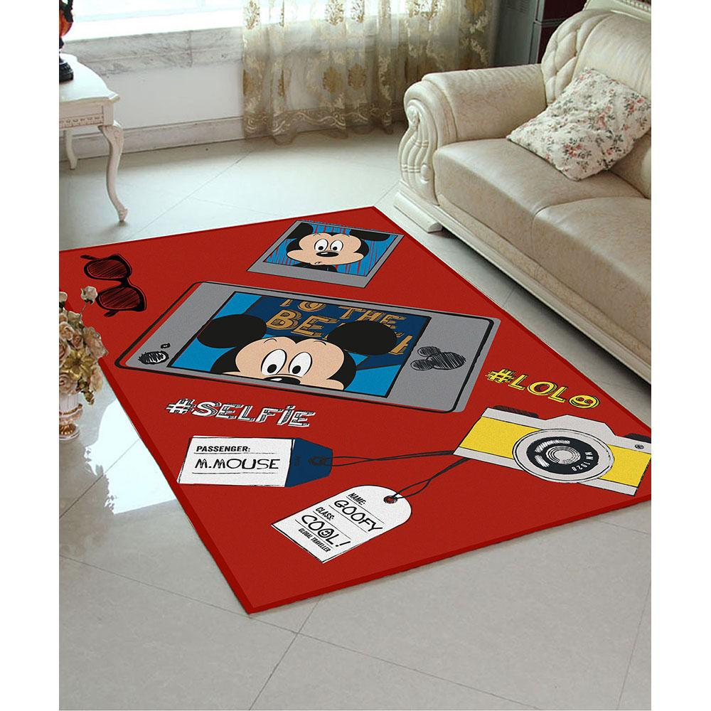 hopscotch - athom - red mickey mouse - carpet